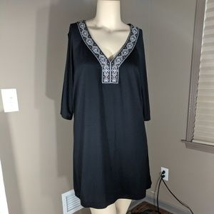 Wearabouts Black Dress with open sleeves Size 1x